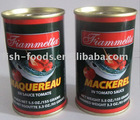 High quality, prefers the African taste tomato sauce canned mackerel price