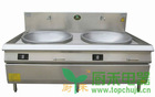 Heavy duty commercial induction wok cooker