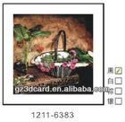 Modern Art PS lenticular 3D picture 3D wall chart pioneer in china