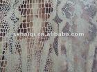 snake skin foil printing fabric / foil printing / snake skin printing / animal skin printing / animal printing / special printi