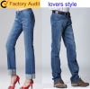 NEW fashion jeans in straight cut for lovers