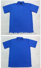 100% Polyester Royal blue Polo Shirt