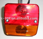 Universal Square Trailer Combination Light,Truck Stop Light---4 Functions