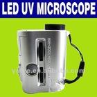 30-60X Mini Pocket LED Light and UV Microscope O-867