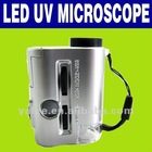 30-60X Mini Pocket LED Light and UV Microscope O-867