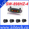 Various Colors!!!4 Sensors Car Parking System LED Display Indicator Sound Alarm Car Reversing Sensors SW-898HZ-4