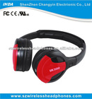 2012 hottest globally 2.4G stereo studio wireless headphone headset