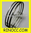 mercedez M102 piston rings chromed