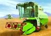Model 4LZ-3 Wheat Harvester