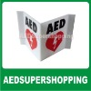 AED Wall Sign Projection/AED Projection Style Wall Sign/Zoll AED 3-D Projection Wall Sign/defibrillator AED Projection signs