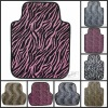 Leopard Car Mat 4 Pcs Set