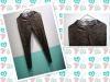 Glue elegant ladies capris trousers