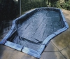In ground pool cover, pool cover