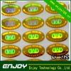 Unique design for laser-counterfeit sticker