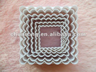 square silicone cookie mold baking cutter molds silicone biscuit molds