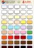 colorful photo frame matboard