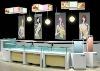 Luxury beauty equipment cosmetic kiosk