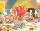 2012 Hot design Flower Turning musical candle fireworks