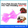 purple Cat Adjustable Collar Bowtie Pet Dog Necktie Bow Tie