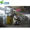Five-layer corrugated cardboard production line