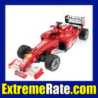 Red 1/10 Scale RC Remote Radio Control Car High Performance F1 Formula One Racing Car