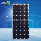 100W monocrystalline solar pv panels