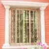New arrival decorative wrought iron window