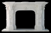 Marble Fireplace Mantel M317