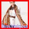 Fashion Cheetah Print Silk Leopard Scarf Pashmina Shawl