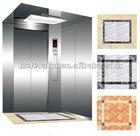 Traction machine drive passenger elevator with machine room