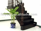 Bamboo Staircase-Roman carved design