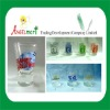 Applique mini glass cup, small glass cup