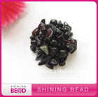 Hot Sale Hand Made Plastic Button With shiningbead