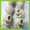 white skull shaped turquoise stone