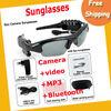 Free Shipping 4GB 4 IN Camera +video +MP3+Bluetooth Sunglass ,hidden camera