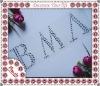 decorative silver letters silver alphabet letters