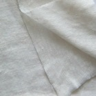 100% soft linen single jersey knitted fabric