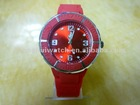 New design Red Silicone Watch Corporate Gifts(CH10221)