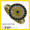 Wholesale 925 silver antique ring with cz