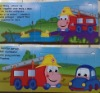 high quality children's puzzle book printing