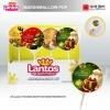 LANTOS Brand 30g Printing Marshmallow Pop