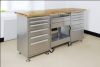 420-0042 stainless steel work station