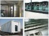 Concrete cooling for batch plant