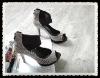 Europe fashion back zip fastener Gladiator Shoes (HHS-0135)