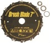 "Steel 7""Chain Brush Blade"