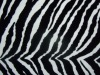 PU bag leather /ZEBRA
