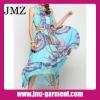 2012 1 piece women casual fashion dress/chiffon dress manufacture