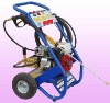 gasoline powered high pressure washer street cleaning machine