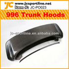 Cabon fiber bonnet car rear trunk hoods 996 hoods for Porsche