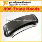 Cabon fiber bonnet car rear trunk hoods 996 hoods for Porsche